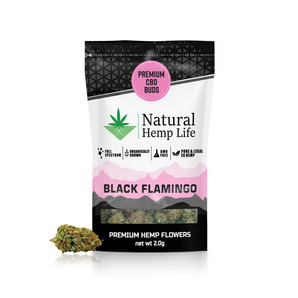 Black Flamingo – Premium CBD Buds Bästa CBD Buds