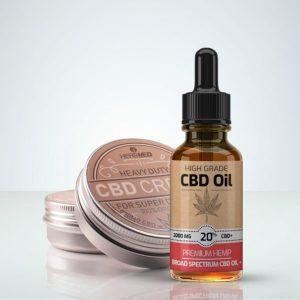 HerbMed Startpaket CBD Olja