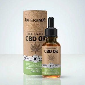 Herbmed – High Grade CBD Oil 10%