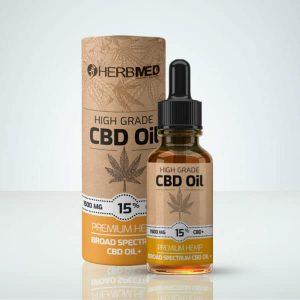 Herbmed – High Grade CBD Oil 15 %