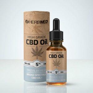 Herbmed – High Grade CBD Oil 5% 500mg