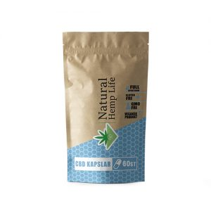 Natural Hemp Life - CBD Kapslar 500mg