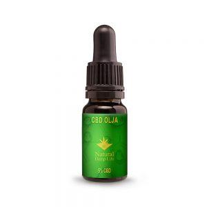 Natural Hemp Life CBD Olja 5% Bästa CBD oljan för viktnedgång